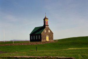 Kirche von Sandgerdi