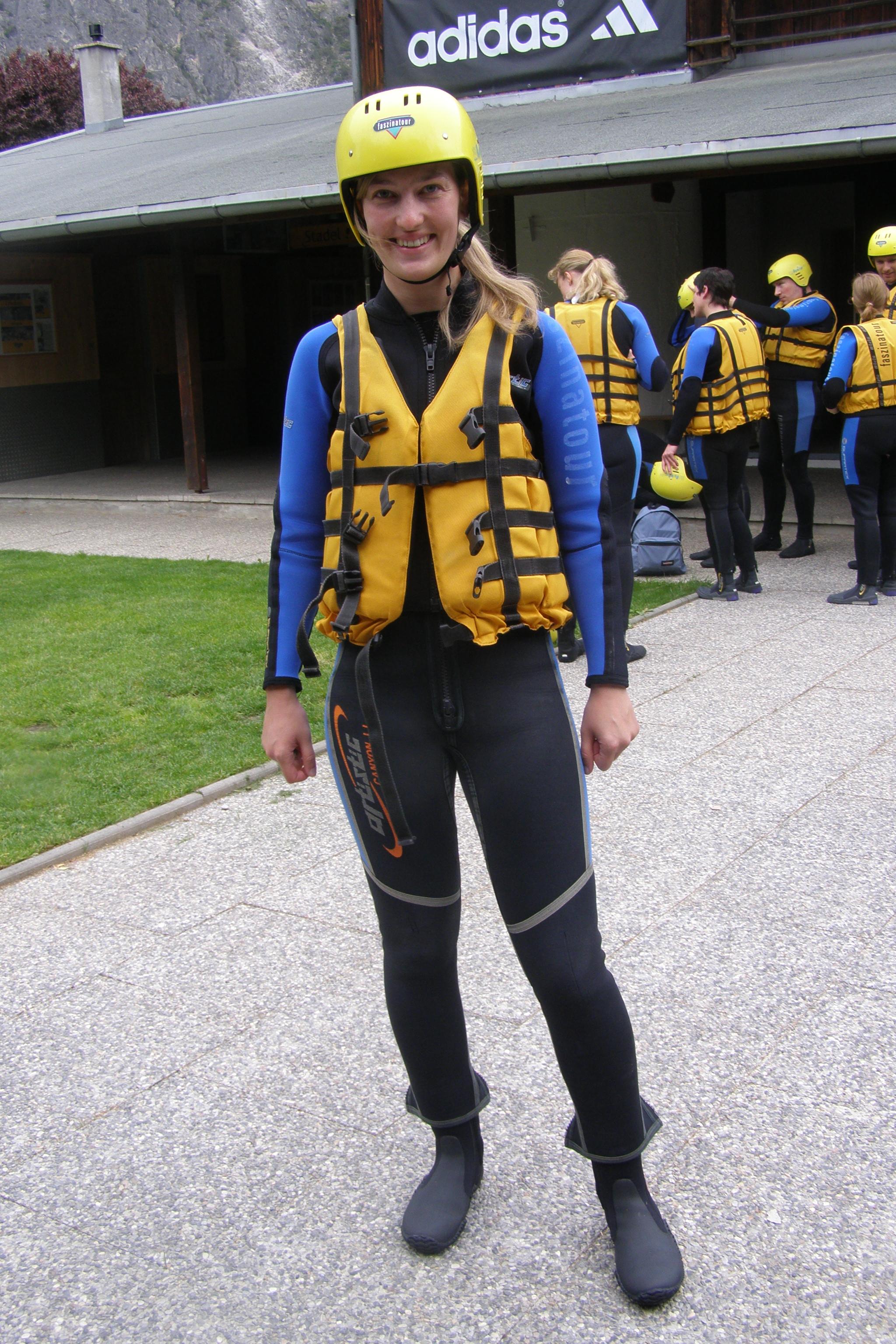 Auf gehts zum Rafting