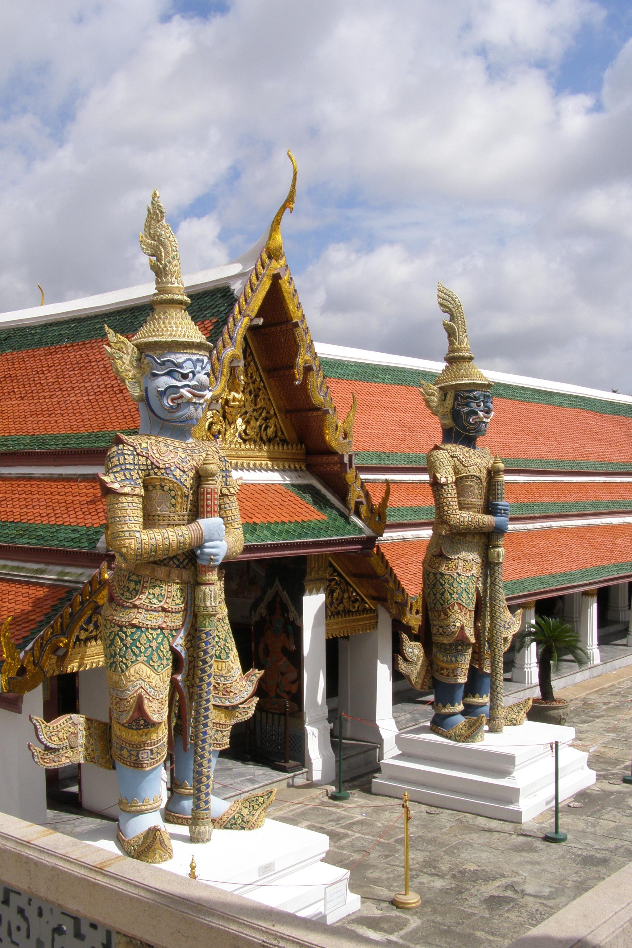 Wat Phra Kaeo - Tempelwächter