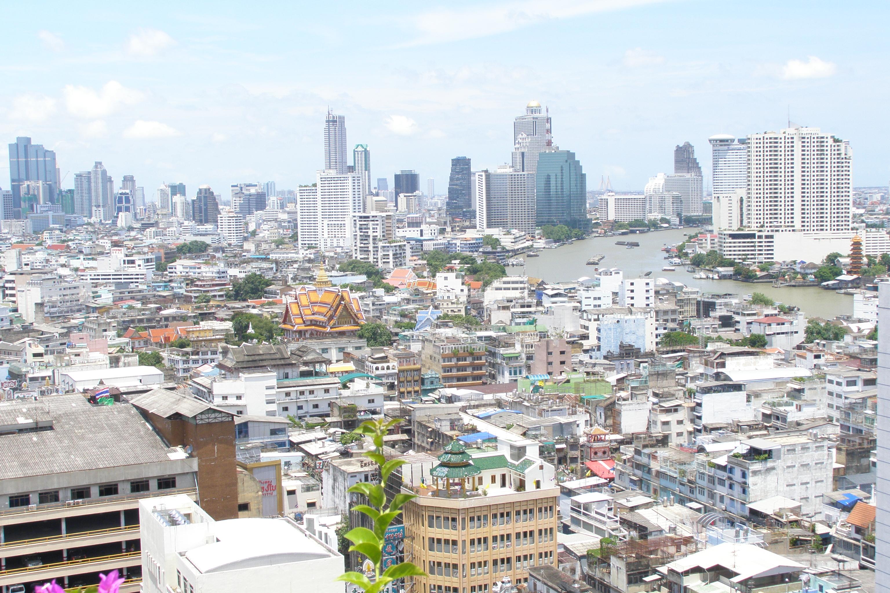 Aussicht vom Baiyoke Sky Tower