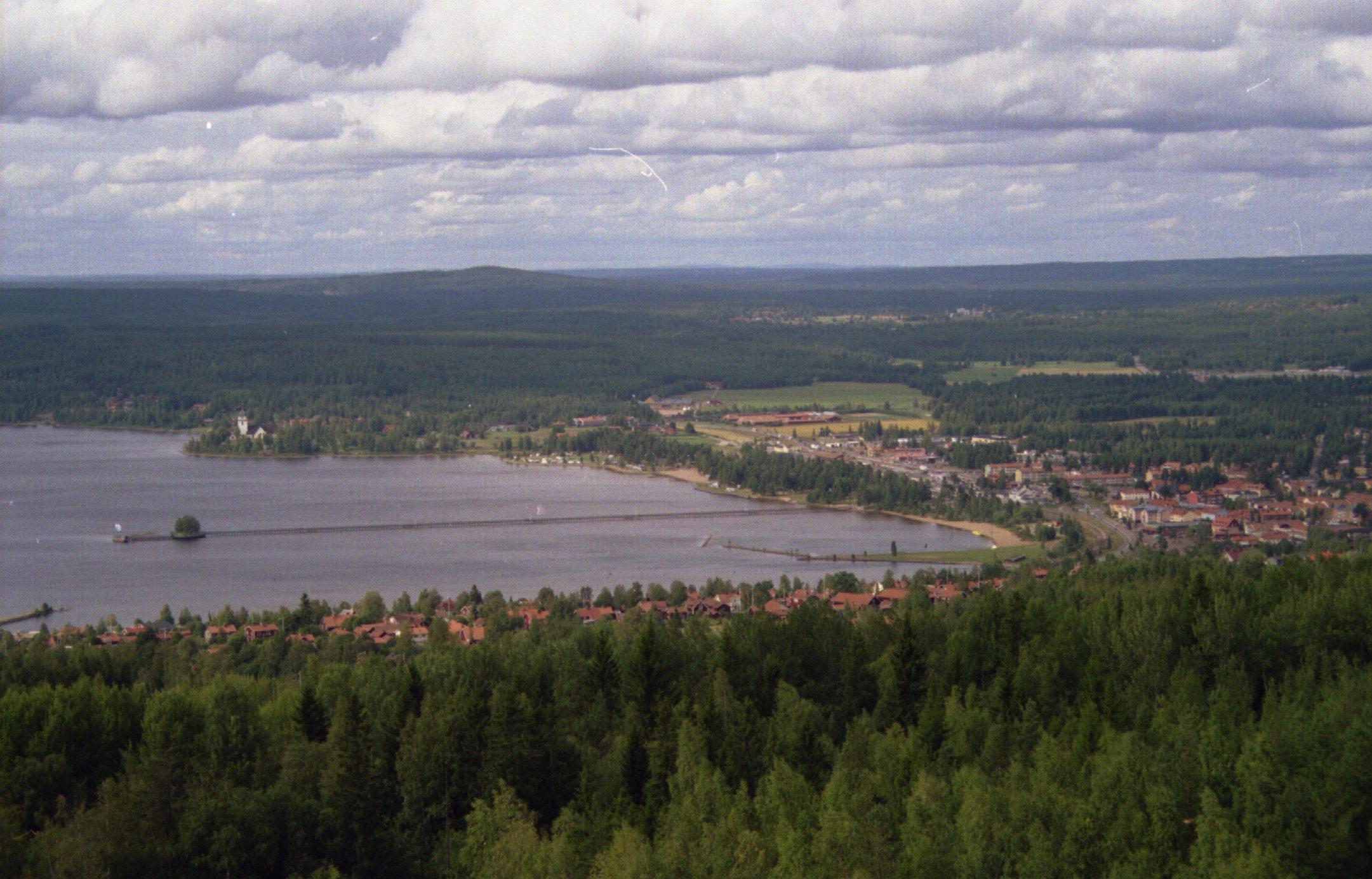 Ausblick auf den Siljan See
