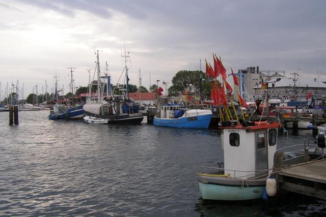 Hafen von Burg auf Fehmarn