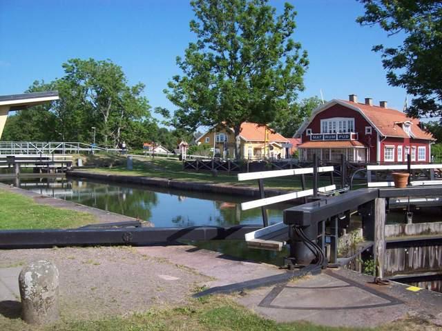 Götakanal Schleuse Sjötorp