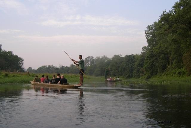 Kanutour im Chitwan Nationalpark