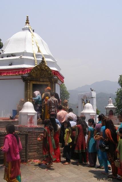 Tempel in Pokhara