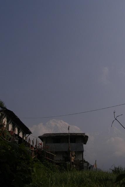 Ghandruk mit Annapurna Süd