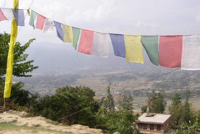 Ausblicke über das Kathmandu Tal