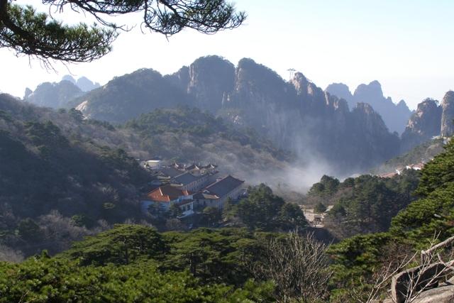 Huangshan Gebirge