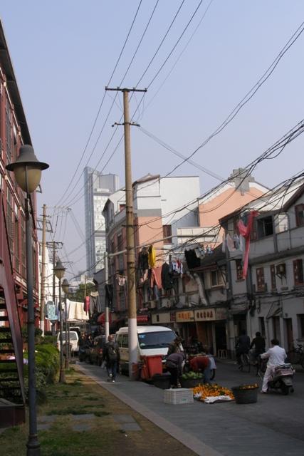 Altstadt mit Wäscheleinen