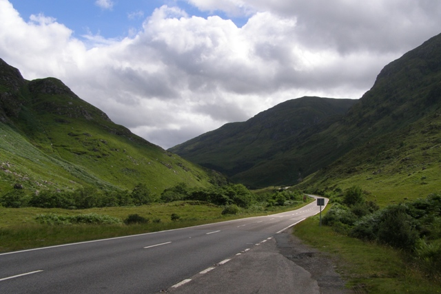 Auf dem Weg zur Isle of Skye