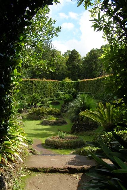 Botanischen Garten von Furnas