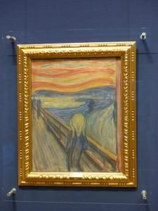 """Munchs """"Schrei"""" in der Nationalgallerie"""