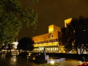 nächtliches Rathaus