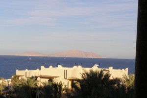 Ausblick vom Grand Sharm Hotel