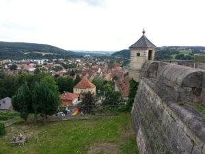 Kronach von der Festung Rosenberg aus