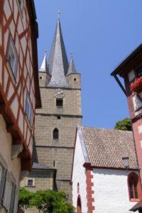 Historischer Ortskern mit Kirche St. Michael