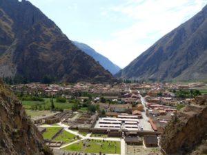 Inkafestung Ollantaytambo