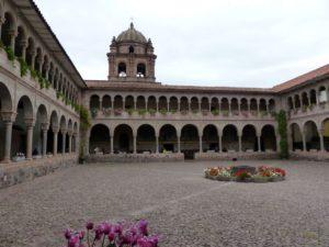 Arkadengänge Kloster Santo Domingo