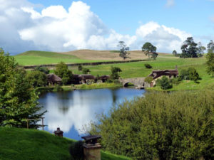 Hobbiton Filmset - Green Dragon