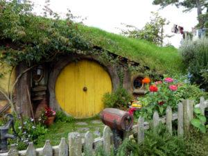 Hobbiton Filmset - Sam's Heim