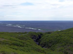 Ausblick vom Skaftafell Nationalpark