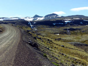 Auf dem Weg nach Djúpavík