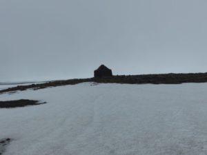 Pass im Schnee