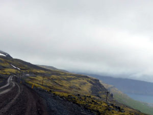 Auf dem Weg nach Patreksfjörður