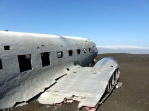 Sólheimasandur Flugzeugwrack