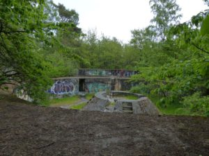 Bunker im Wald