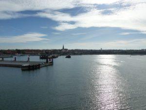 Hafenausfahrt in Rønne